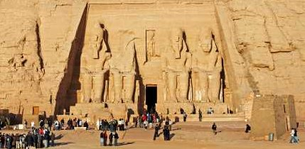 Hydroelectric Power Aswan High Dam Caused Abu Simbel Temple To Be Moved - iStockPhoto