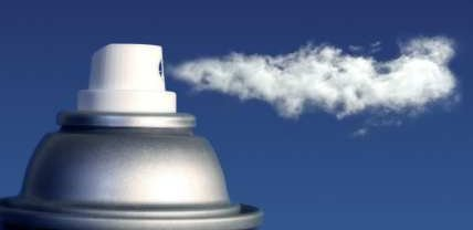 Ozone layer was reduced by propellants used in aerosols - iStockPhoto