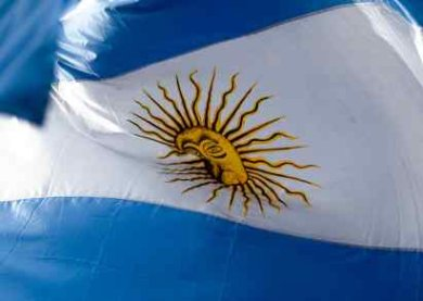 Z-Pinch First Experiments Conducted in Argentina - Flag of Country