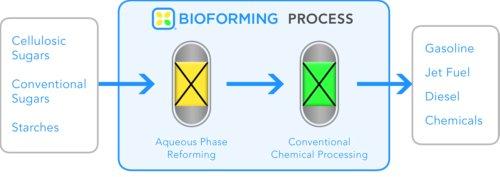 Biomass Fuel Production - Virent's Process
