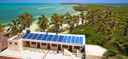 Solar Power For Homes In Mexican Building - iStockPhoto