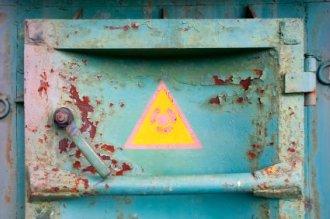 Chernobyl Nuclear Plant Rusty Door - iStockPhoto
