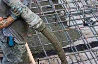 Concrete pouring - iStock Photo