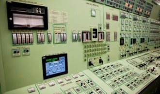 Nuclear Reactor Power Station Control Room - iStockPhoto