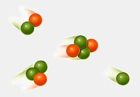 Model of Fusion with deuterium and tritium