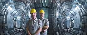 Fusion Reactor With Tokamak Chamber UK - from JET