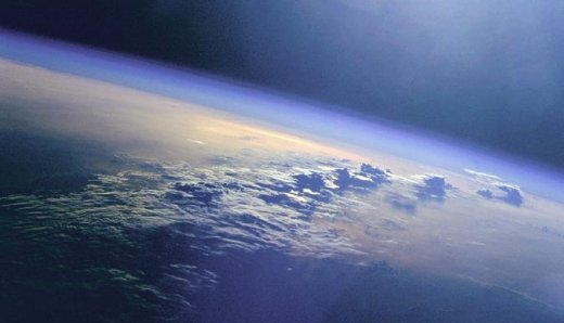 Thin layer of atmosphere swaddling the earth - NASA photos