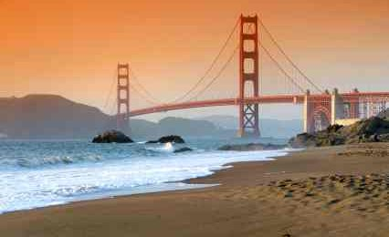 Tidal Power Can Be Utilised In Large Harbour Entrances Like The Bay Area Golden Gate - iStockPhoto