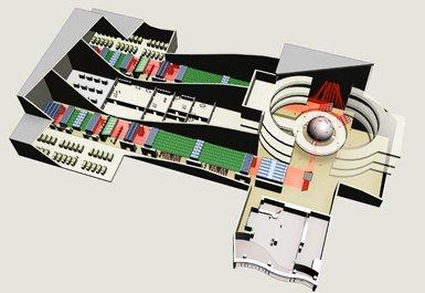HiPER Power Supply Building Design Diagram