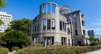 Atom Bomb remembered at Hiroshima Peace Memorial - iStockPhoto