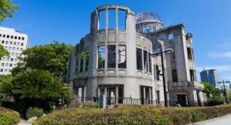 Atom Bomb remembered at Hiroshima Peace Memorial - iStockPhoto