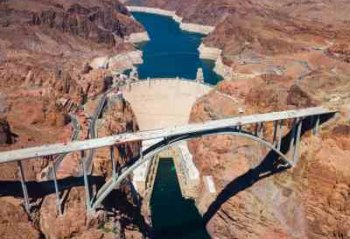 Hydroelectricity News About Large Projects Similar To The Hoover Dam - iStockPhoto