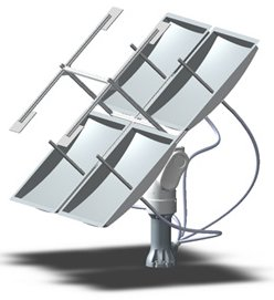 Rectangular unit collecting dish from Sunlight Direct