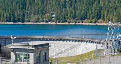 Hydroelectric Power Dam Part of our Renewable Energy News - iStockPhoto