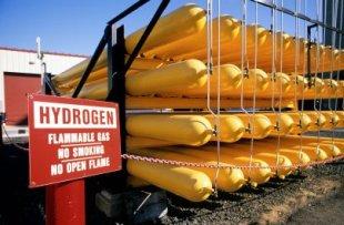 Hydrogen Fuel Storage Tanks - iStockPhoto