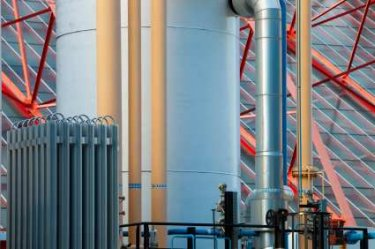Storage of Hydrogen Fuel in a Large Facility - iStockPhoto