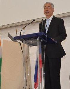 International Thermonuclear Experimental Reactor Director General Osamu Motojima