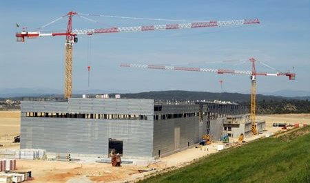 ITER Poloidal facility construction April 2011