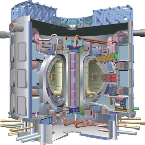 International Thermonuclear Experimental Reactor Diagram
