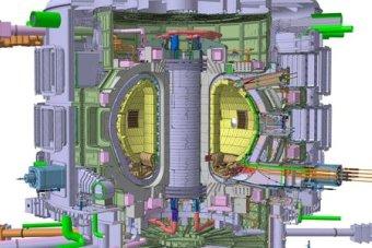 International Thermonuclear Experimental Reactor Tokamak Diagram