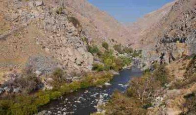 Kern River near Bakersfield - iStockPhoto
