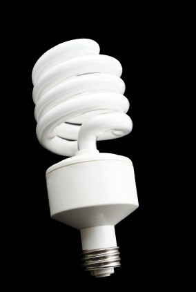 Compact Fluorescent Lamp Example - iStock Photo