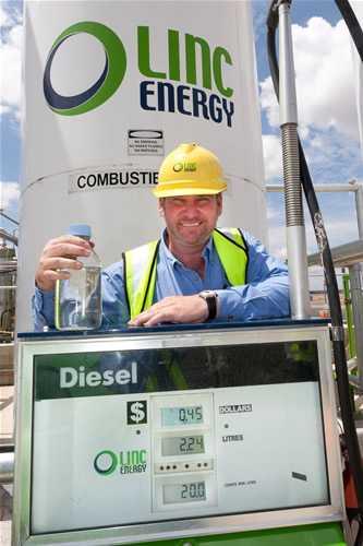 Clean Coal Technologies Linc Energy Underground Coal Gassification Diesel