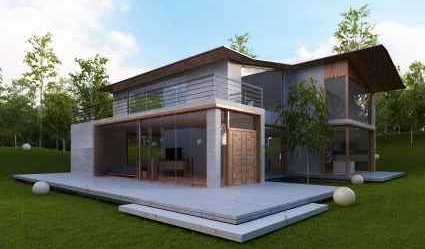 Alternative Energy Design In Modern House   IStockPhoto