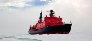 Nuclear Reactor Powers Russian Nuclear-Powered Icebreaker - iStockPhoto