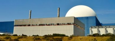 Nuclear Reactor Power Station Sizewell UK