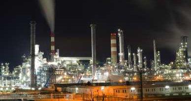Oil Refinery Distillation Towers - iStockPhoto