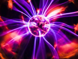 Plasmas are illustrated day to day in plasma globes - this fourth atate of matter is the basis for much nuclear fusion research