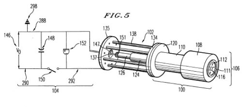Prometheus Links Plasmak Gun Design in Patent