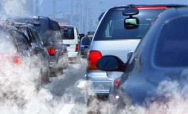 Greenhouse Gases Created By Vehicle Pollution - iStockPhoto