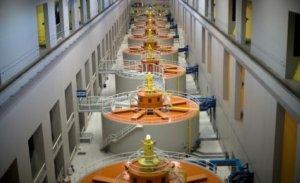 Hydroelectric Power Station Generators - iStockPhoto