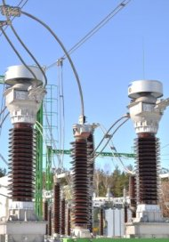 Power Station Lines And Isolators - iStockPhoto