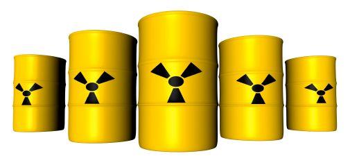 Radioactivity Marked Barrels - iStockPhoto