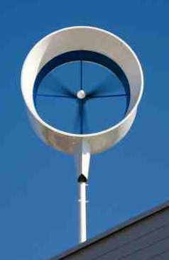 Residential Wind Turbine Single Example Netherlands - iStockPhoto