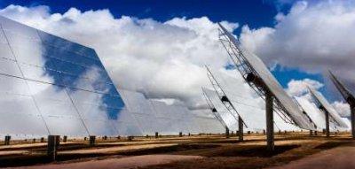 Solar Farms Can Employ Heliostat Arrays - iStockPhoto
