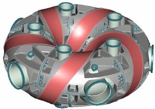Spherical Stellarator Compact Toroidal Hybrid - CTH - at Auburn, Alabama