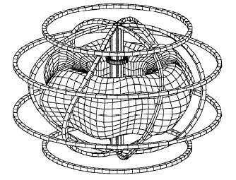 Spherical Stellarator early theoretical design by Paul Moroz