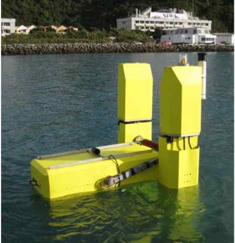 Wave Energy Harvested By Quarter Scale WET NZ Model