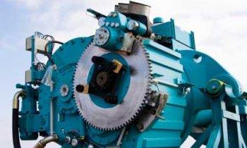 Gears of a Wind Turbine - iStockPhoto