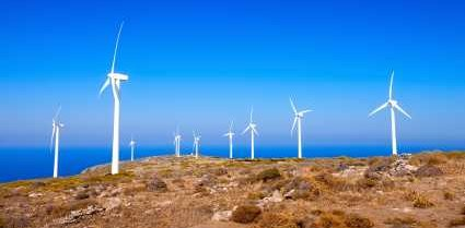 Wind Turbines in Greece - iStockPhoto