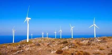 Wind Turbines in Greece - iStockPhoto