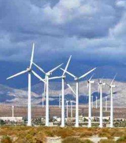 Group of Wind Turbines - iStockPhoto