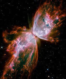 Z-Pinch Sausage Instability Appearance in the Butterfly Nebula