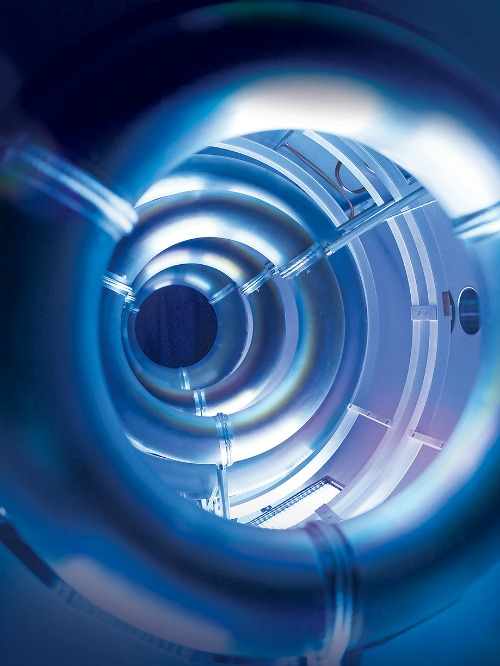 Compact Fusion Reactor Internal View