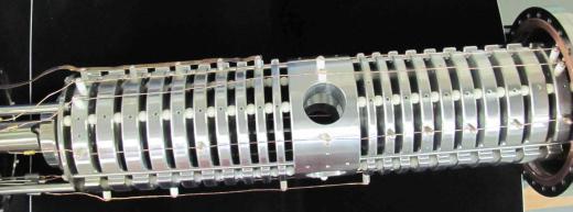 Electrostatic Confinement Fusion MARBLE device photo