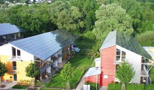 Solar Settlement in Freiburg